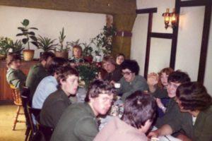 Meiweek 1978 017 Koffietafel