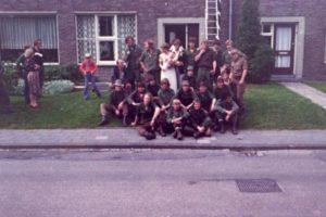 Meiweek 1979 023 Groepsfoto na planting
