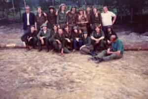 Meiweek 1982 013 Groepsfoto bij Den