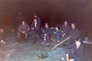 Meiweek 1982 016 Woensdagavond kampvuur