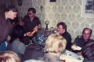 Meiweek 1982 022 Koffietafel
