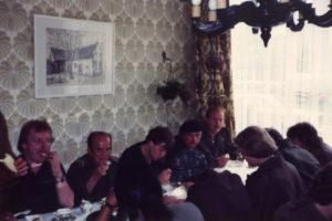 Meiweek 1982 023 Koffietafel