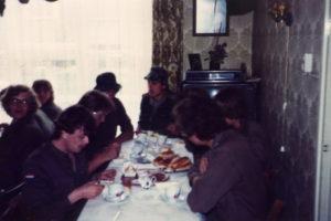 Meiweek 1982 024 Koffietafel
