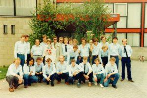Meiweek 1982 Groepsfoto MJA