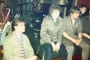 Meiweek 1982 Meipaar in cafe
