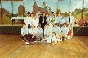 Meiweek 1984 Groepsfoto MJA