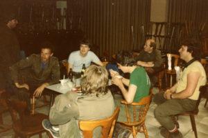 Meiweek 1985 011 MJA in slaapzaal
