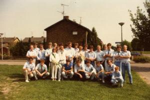 Meiweek 1985 020 Groepsfoto met MeiPaar