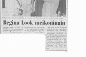 Meiweek 1985 Krantenartikel