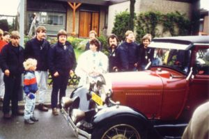 Meiweek 1986 OMJA en Meikoningin